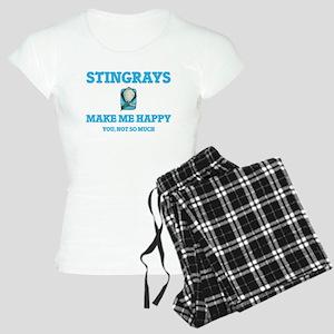 Stingrays Make Me Happy Pajamas