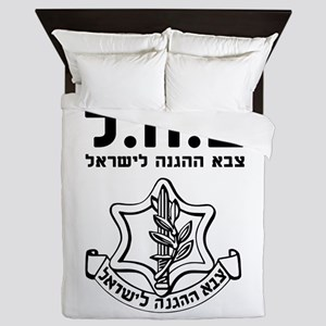 IDF Israel Defense Forces - HEB - Black Queen Duve