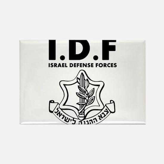 IDF Israel Defense Forces - ENG - Black Magnets