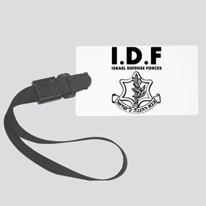 IDF Israel Defense Forces - ENG - Black Luggage Ta