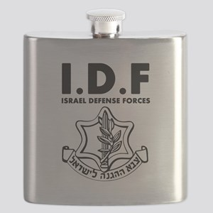 IDF Israel Defense Forces - ENG - Black Flask
