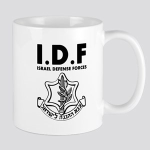 IDF Israel Defense Forces - ENG - Black Mugs