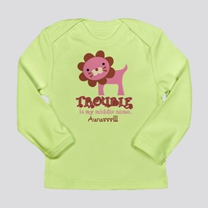 Cute Trouble Lion Long Sleeve Infant T-Shirt