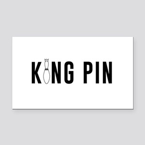 King pin Rectangle Car Magnet