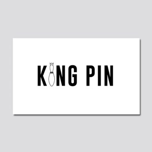 King pin Car Magnet 20 x 12