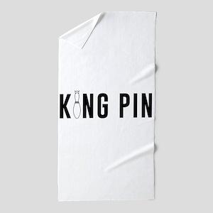 King pin Beach Towel