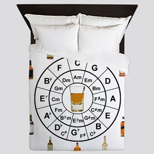 Circle of Whiskey 5th Queen Duvet