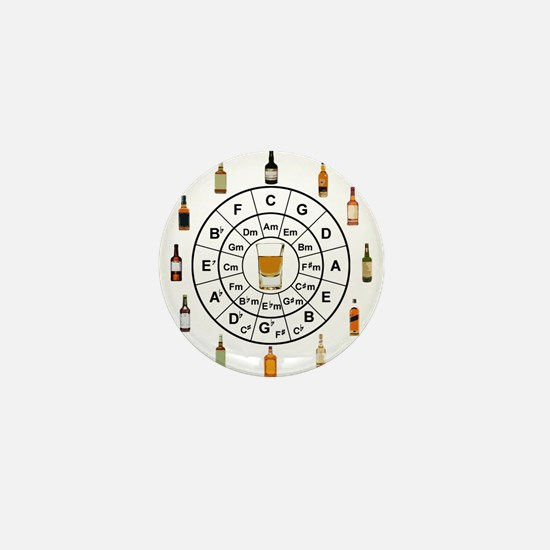 Circle of Whiskey 5th Mini Button