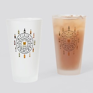 Circle of Whiskey 5th Drinking Glass