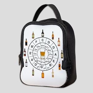 Circle of Whiskey 5th Neoprene Lunch Bag