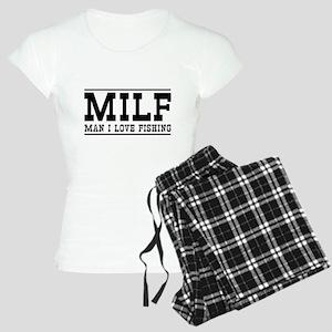 Milf man I love fishing Pajamas