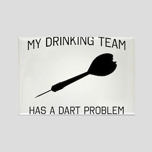 Drinking team dark problem Magnets