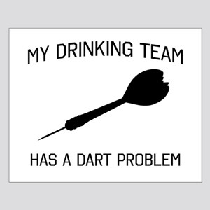 Drinking team dark problem Posters