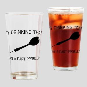 Drinking team dark problem Drinking Glass