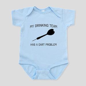 Drinking team dark problem Body Suit