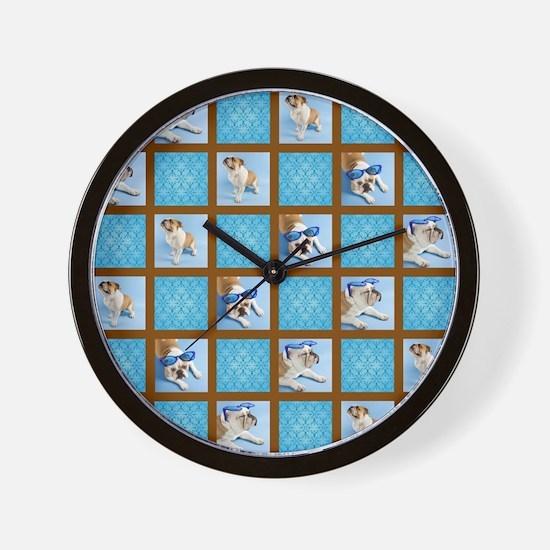 COOL DOG Wall Clock