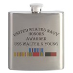 USS Walter X Young Flask