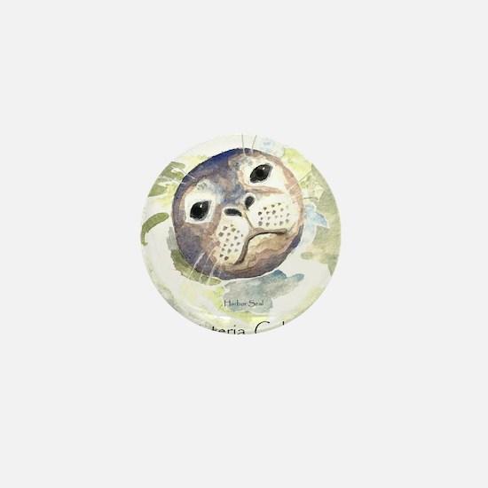 Harbor Seal Mini Button