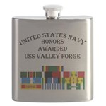 USS Valley Forge Flask