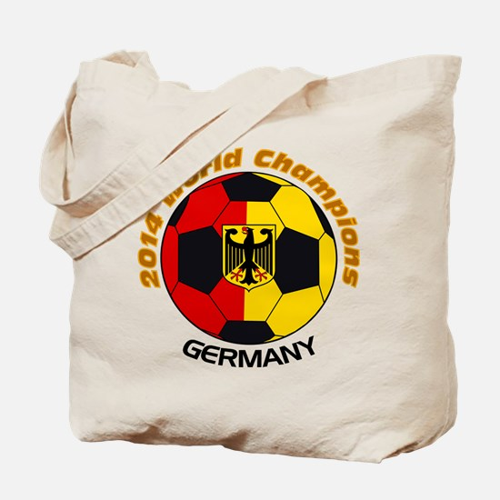 2014 World Champions Germany Tote Bag