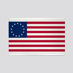 Betsy Ross Flag Rectangle Magnet