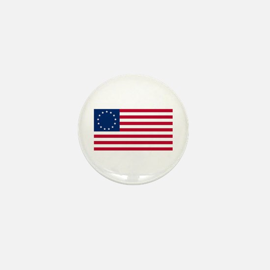 Betsy Ross Flag Mini Button