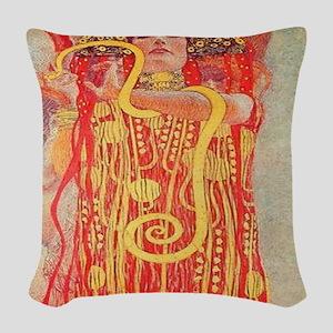 Medicine Woman Woven Throw Pillow