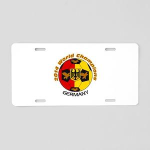 2014 World Champions Aluminum License Plate