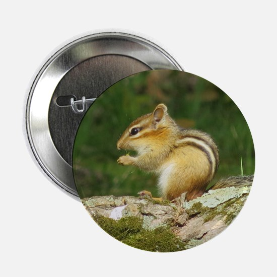 "Small Chipmunk 2.25"" Button"