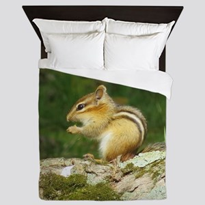 Small Chipmunk Queen Duvet