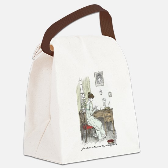 Cool Jane austen mr bingley Canvas Lunch Bag