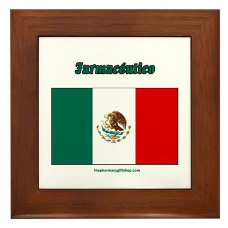 Farmaceutico (mexico pharmaci Framed Tile