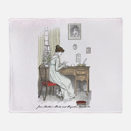 Funny Mr darcy Throw Blanket