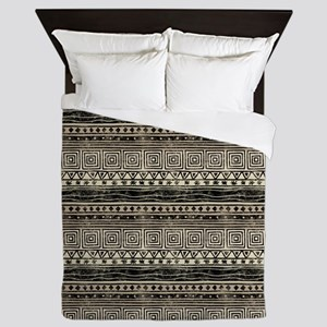 African Pattern Queen Duvet