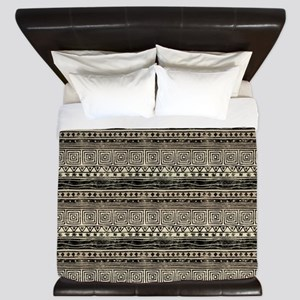 African Pattern King Duvet