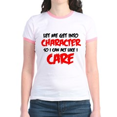 Like I Care bla-red T-Shirt