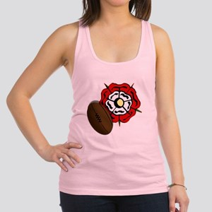 England Rose Rugby Racerback Tank Top
