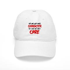 Like I Care bla-red Baseball Baseball Cap