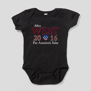allen west 2016 Baby Bodysuit