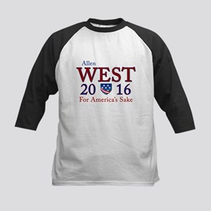 allen west 2016 Kids Baseball Jersey
