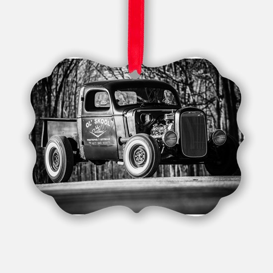 Cute Rat rod Ornament
