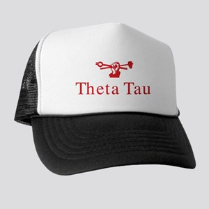Theta Tau Fraternity Name and Symbol i Trucker Hat