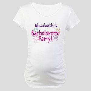 Bachelorette Party (p) Maternity T-Shirt