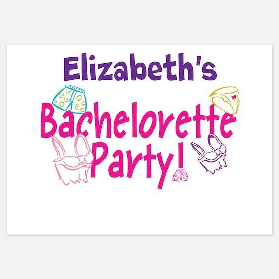 Bachelorette Party P Invitations
