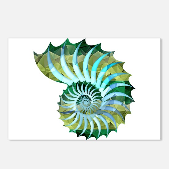 Cute Shell Postcards (Package of 8)
