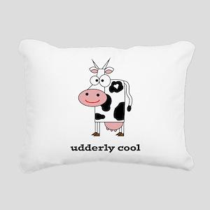 Udderly Cool Rectangular Canvas Pillow