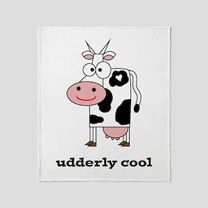 Udderly Cool Throw Blanket