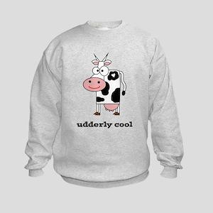 Udderly Cool Kids Sweatshirt