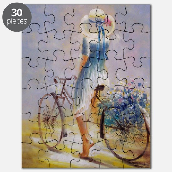 Vintage Bicycle Puzzle