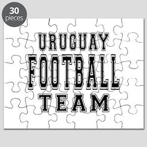 Uruguay Football Team Puzzle